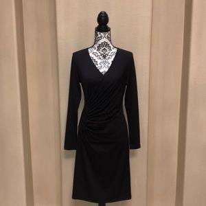 Dresses & Skirts - V Neck Black Dress